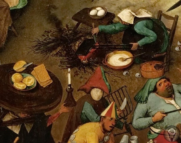 """О вафлях писали даже в романах! Рыцарское сочинение """"Протесилай"""" Гуона де Рутеланда говорит, что вафли - это самый вкусный десерт для дамы."""